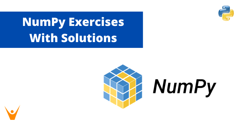 20 NumPy Exercises for Beginners (Python Solutions)