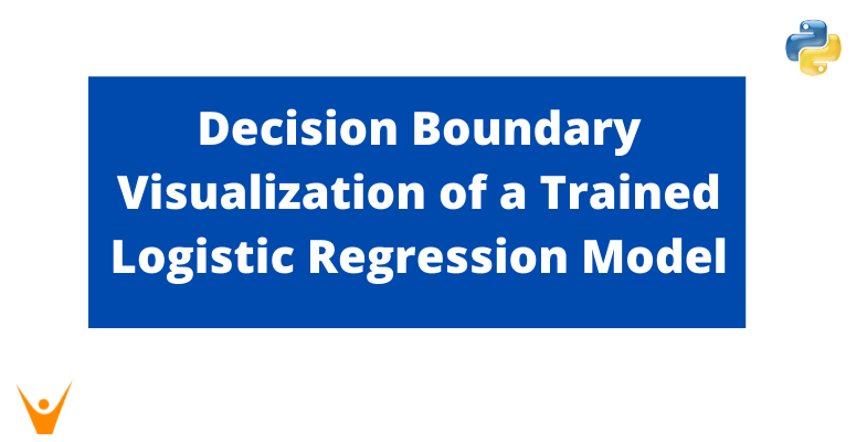Decision Boundary Visualization of a Trained Logistic Regression Model