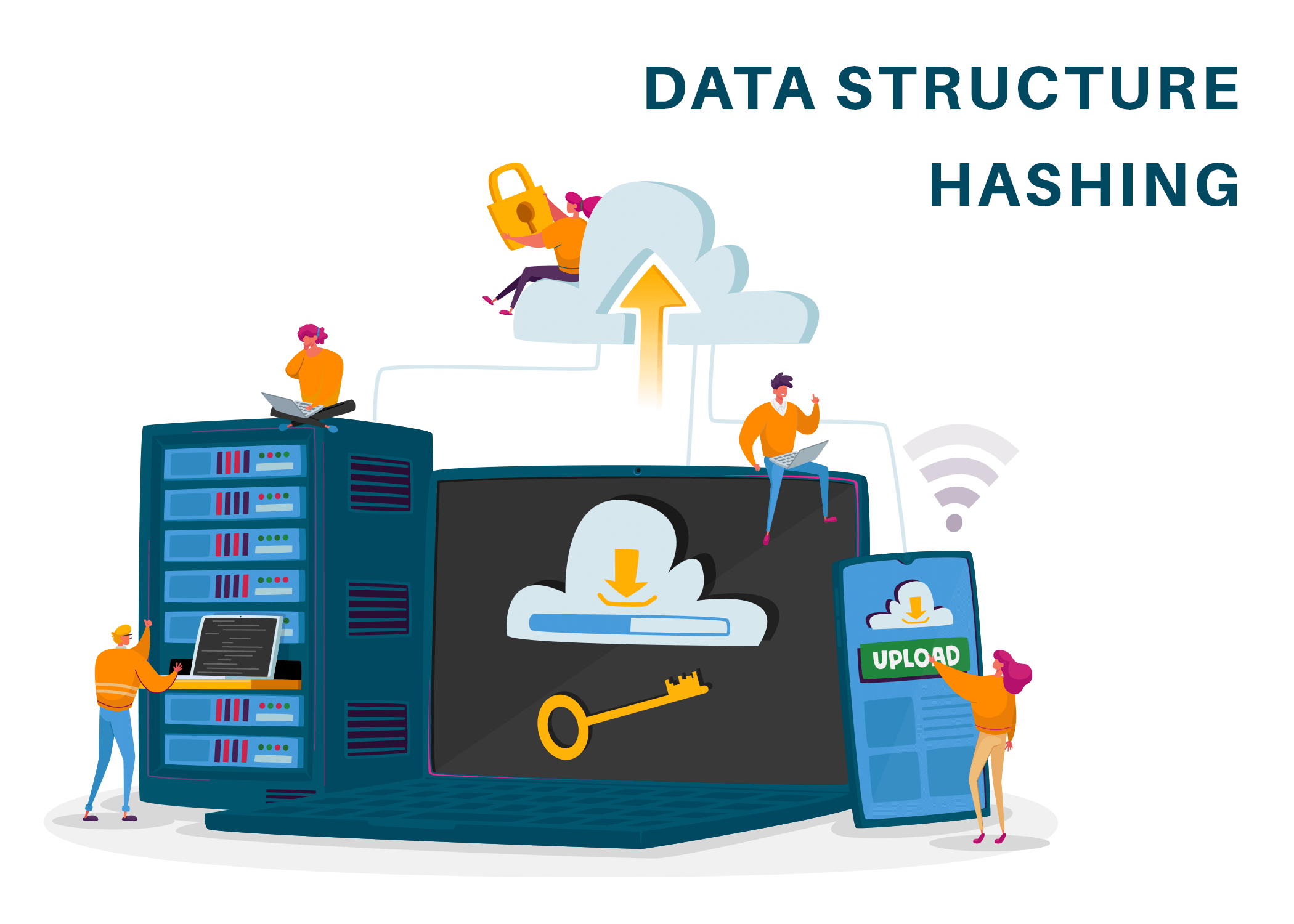 Hashing in data structure (Complete Guide with Examples)