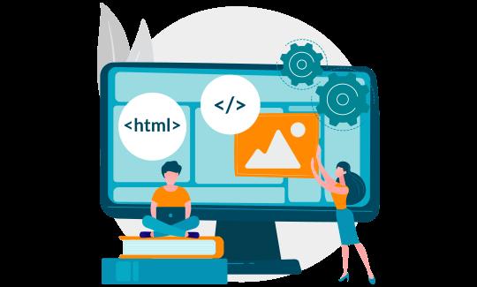 Student getting HTML homework help online